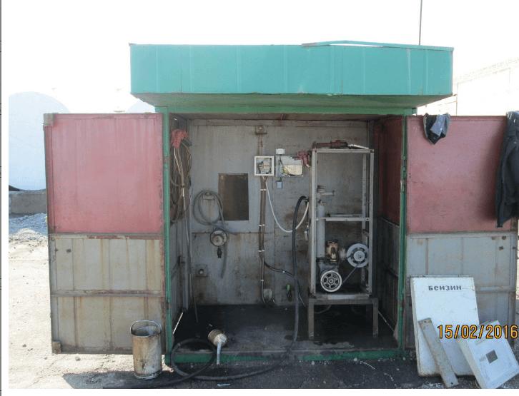 АЗС для встановлення датчика рівня палива