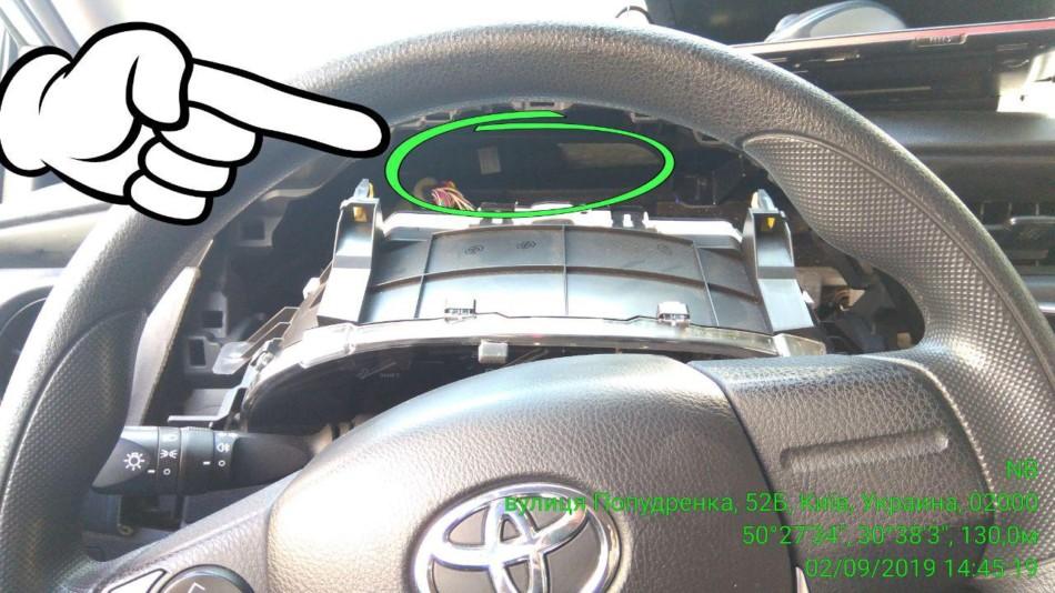автомобильный трекер под панель